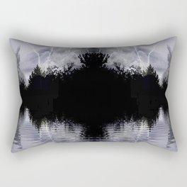 Dark Island Storm Rectangular Pillow