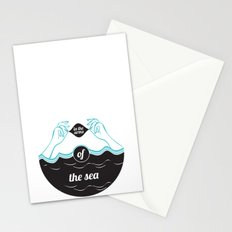 In The Arms of The Sea Stationery Cards