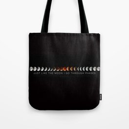 Just like the moon Tote Bag