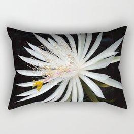 Orchid Cactus Bloom Rectangular Pillow