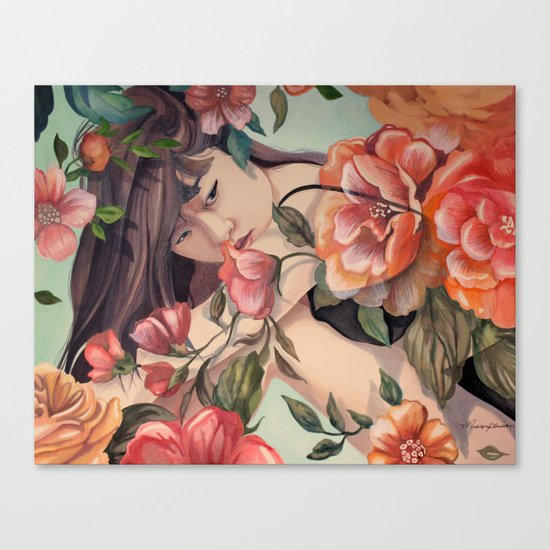 Steal Blossom Canvas Print
