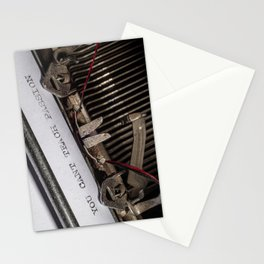 You Can't Teach Passion Stationery Cards
