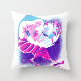 The Space Diva  Throw Pillow