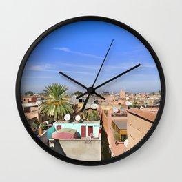 Marrakech Beauty Wall Clock