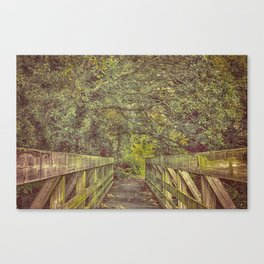 Over and On We Walk Canvas Print
