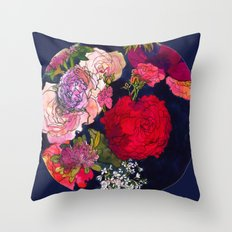You Promised Me Roses Throw Pillow