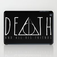 deathly hallows iPad Cases featuring Deathly Hallows by Taste of Ink Designs