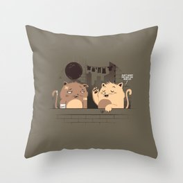 One More Live... Throw Pillow