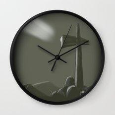 Inspired Cross Wall Clock