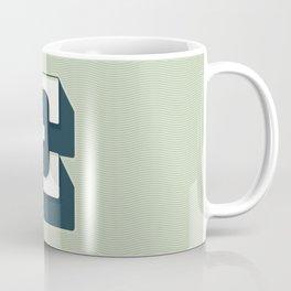 BOLD 'E' DROPCAP Coffee Mug