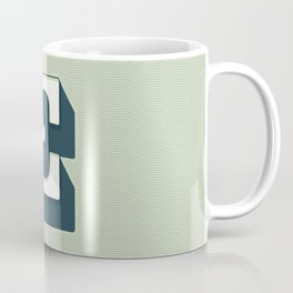 BOLD 'E' DROPCAP Coffee Mug