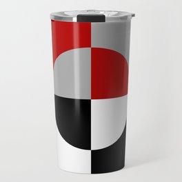 Geometrical pattern Travel Mug