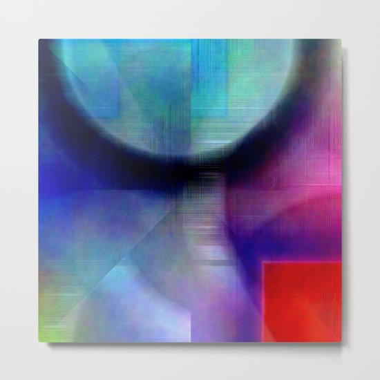 Multicolored abstract no. 55 Metal Print