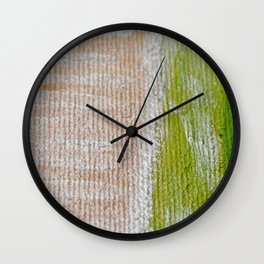 "Flowers In Bloom: ""Dessert First (slice 1)"" Wall Clock"