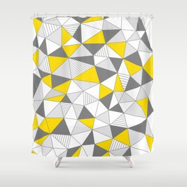 pattern-T Shower Curtain