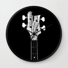 Lemmy - Bass Head - Rickenbastard - Motorhead -  Rock Music Wall Clock