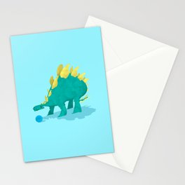 Stegosaurus and his Ball Stationery Cards