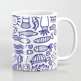 Lines Under the Sea Coffee Mug
