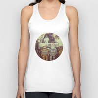 robots Tank Tops featuring Robots by GF Fine Art Photography