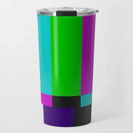 SMPTE Color Bars (as seen on TV) Travel Mug