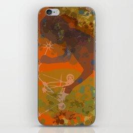 Voyager (Orange) iPhone Skin