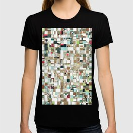 Geometric Textured Jumble T-shirt