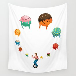 Ice Cream Solves Everything Wall Tapestry
