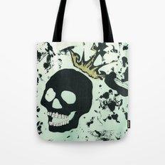 Last Laughing Skull Tote Bag