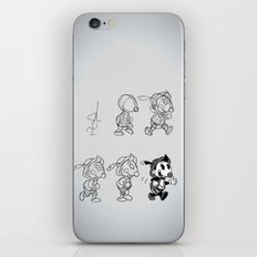 Cartoon Character Step by Step iPhone & iPod Skin