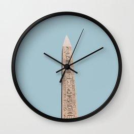karnak / egypt Wall Clock