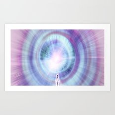 The Search of Light Art Print