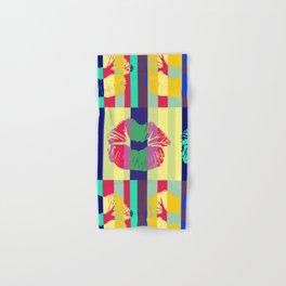 Bisou Bisou Pop Art Kisses Collage Hand & Bath Towel