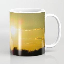 Golden sunset at Wanstead Flats Coffee Mug