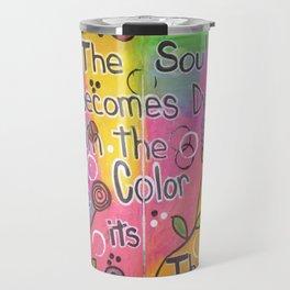 Color The Soul Travel Mug
