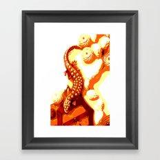 Vintage Salamander Framed Art Print
