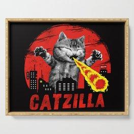 Catzilla Serving Tray