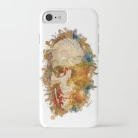 psychadelic iPhone & iPod Cases featuring Psychadelic Skull by In Full Color