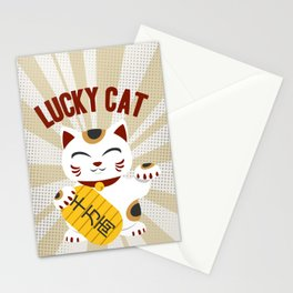 MANEKI NEKO - LUCKY CAT Stationery Cards