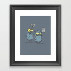Grow Up _ Graphic Framed Art Print