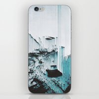 glitch iPhone & iPod Skins featuring Glitch by SUBLIMENATION