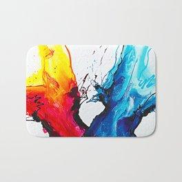 Abstract Art Britto - QB292 Art Print Bath Mat
