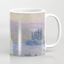 Flower Beds at Vetheuil by Claude Monet Coffee Mug