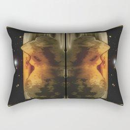 Exit to the stars. Rectangular Pillow