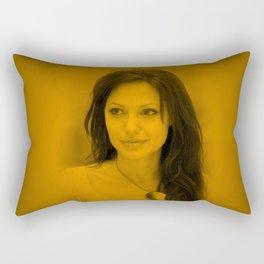 Angelina Jolie - Hot Celebrity Rectangular Pillow