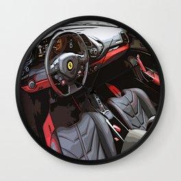 The Ferrari 488 Wall Clock