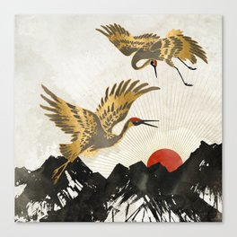 Elegant Flight II Canvas Print