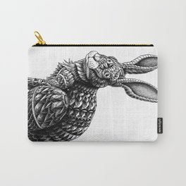 Ornate Rabbit Carry-All Pouch