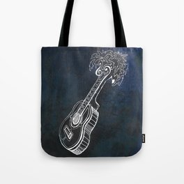 Music is Our Vacation Tote Bag