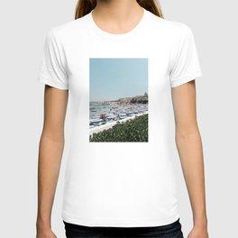 Italian Coast Art Print T-shirt