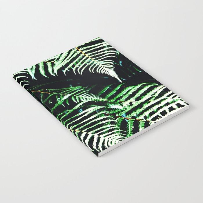 Entranced Ferns #society6 #prints #decor #home Notebook